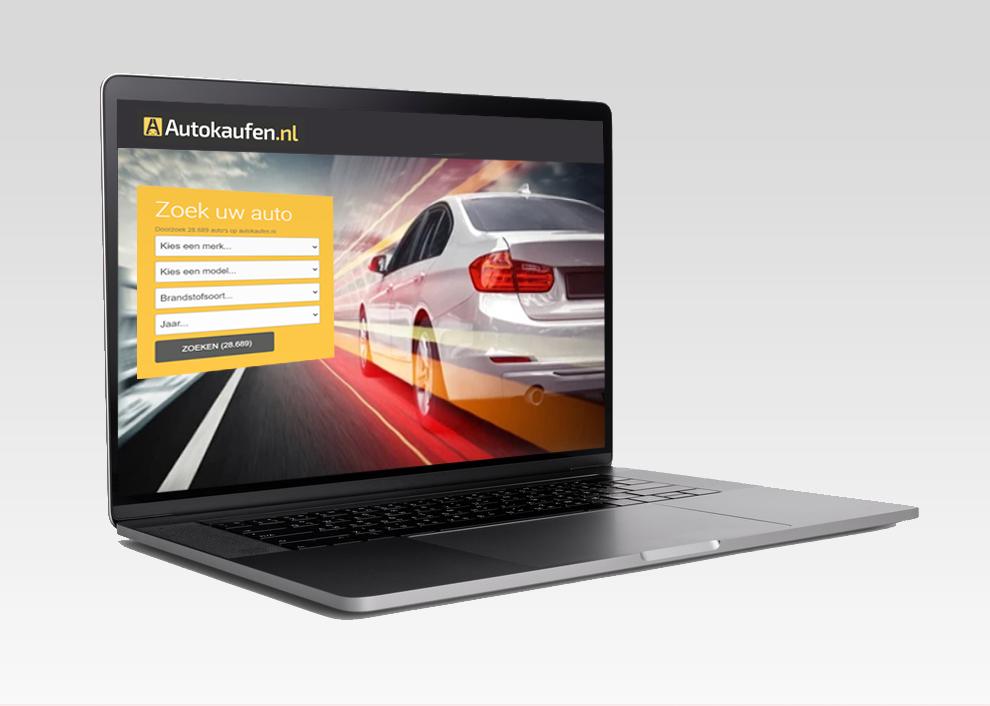 Zoekfunctie van Autokaufen.nl